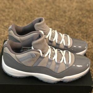 New Men's Air Jordan 11 Retro Low Cool Grey